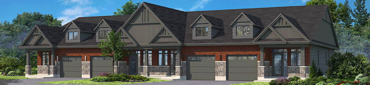 Orchard View by the Mississippi Town Home rendering