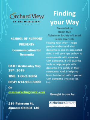 Finding your Way. School of Support.0519