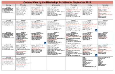 OVM – September Calendar 2019-cal
