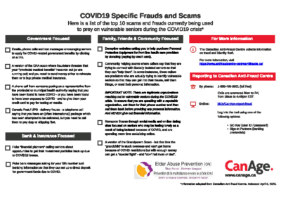 Frauds Scams During COVID-19