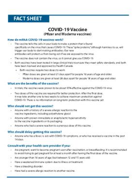 COVID Vaccine info sheet.0121