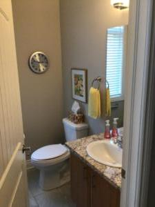 Orchard View By the Mississippi Town Home Powder Room