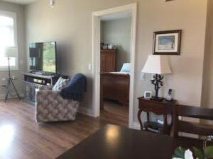 Orchard View By the Mississippi Town Home of Dining & Living Room ~  right side