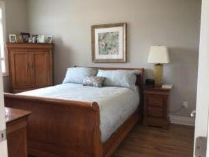 Orchard View By the Mississippi Town Home Master Bedroom